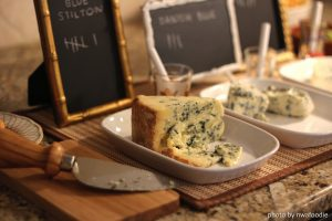 close up of Stilton