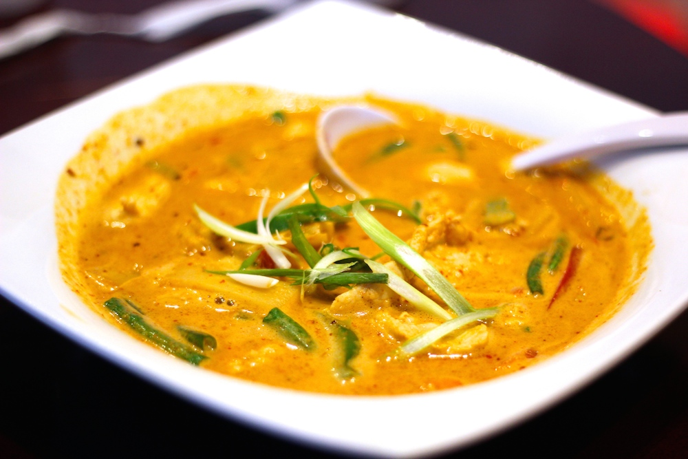 Panang curry from Oishi