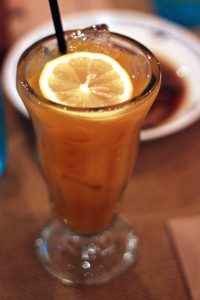 David Burnette's sweet potato lemonade