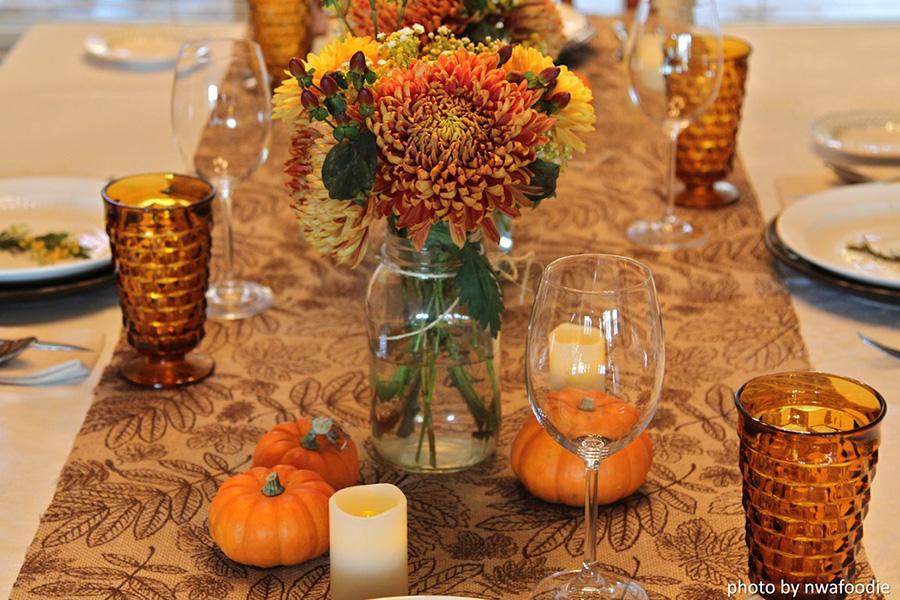 Thanksgiving table - main shot