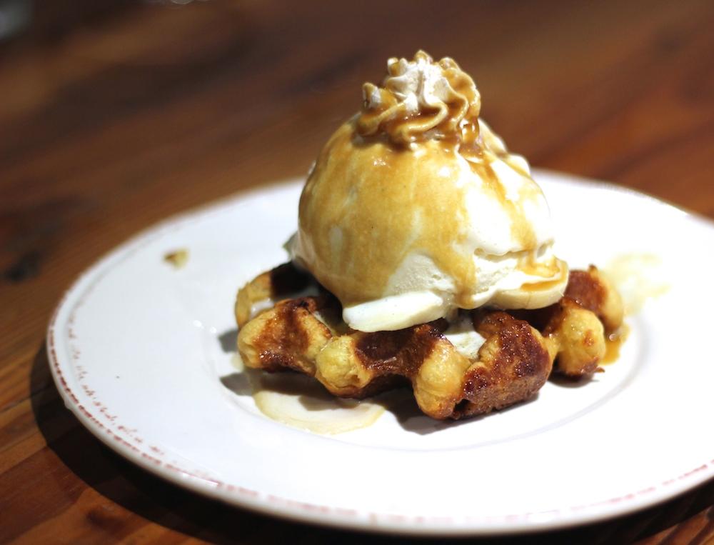 Samantha's liege waffle
