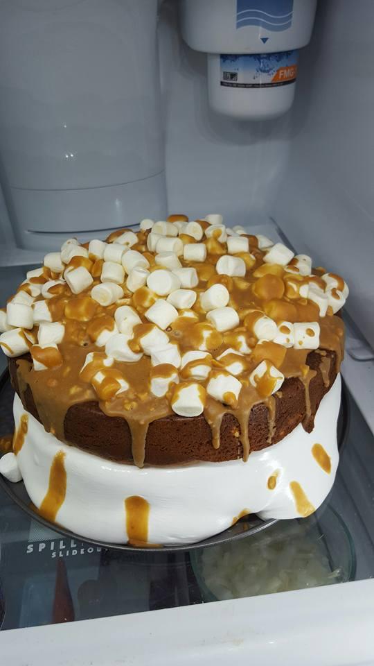 Joel Rodriguez: Peanut butter butterscotch cake.