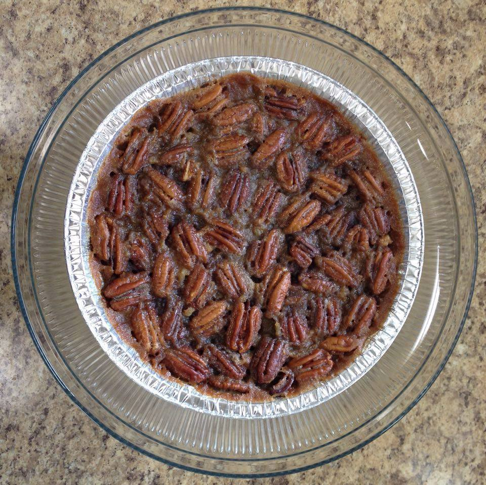 Violetta E. Peracchio: Pecan pie baked by Sharon Frizzell Woodson of Honey Pies