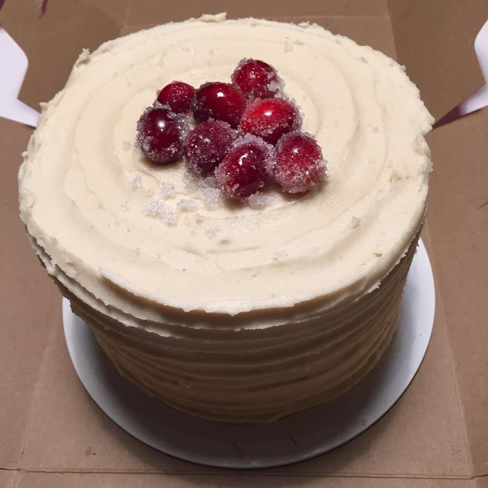 John Keller: Cranberry Apple cake from Sweet Love Bakery