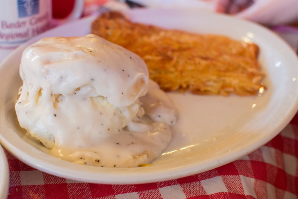 Sloppy Biscuit at Billy Gail's Café